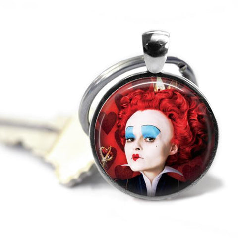 Alice In Wonderland's The Red Queen Handmade Key chain