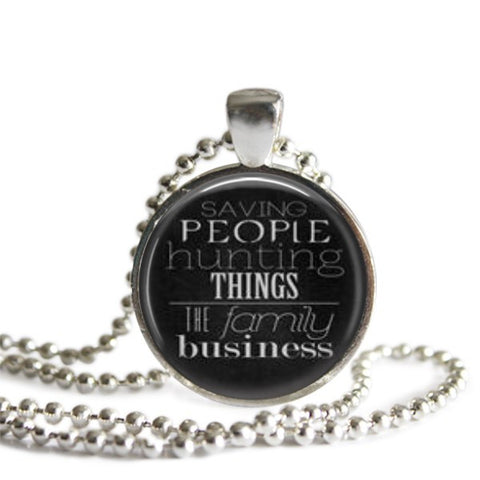 Saving People Hunting Things The Family Business Necklace Supernatural