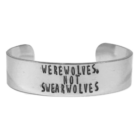 Werewolves, Not Swearwolves Bracelet