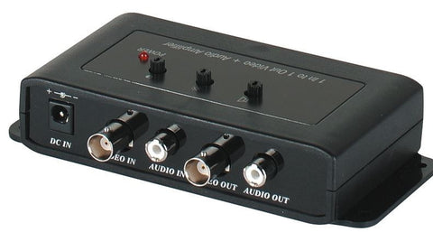 SEESTATION CA101A 1 Input to 1 Output Video with Audio Amplifier - PAM Distributing Co