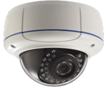 SeeStation (IP) CIP2220V-1W IP Dome Camera Vandal Resistat 1.3MP IR POE ONVIF 2.8-12mm Varifocal Lens