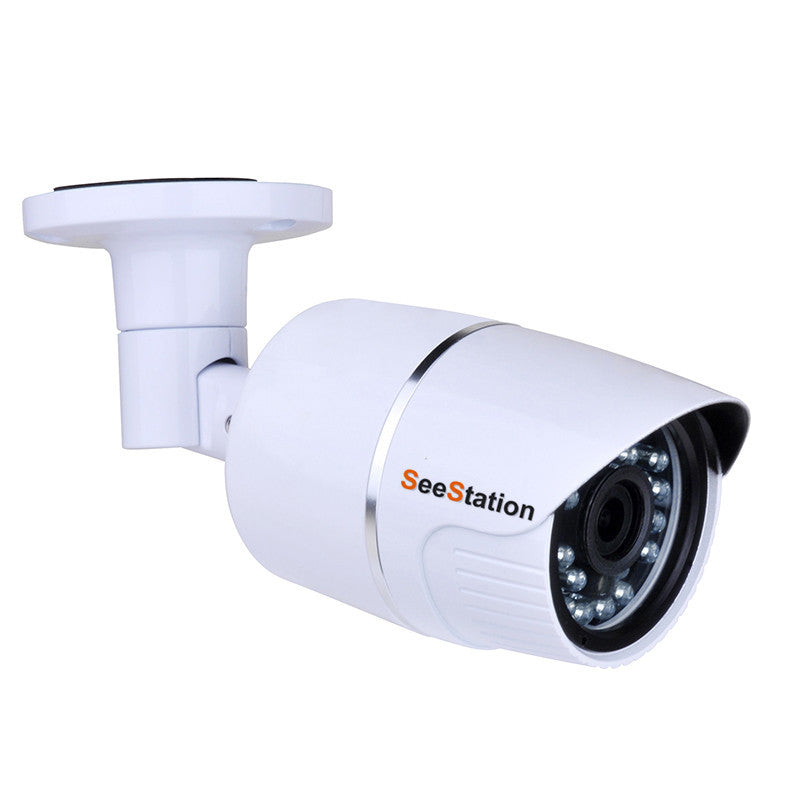 SeeStation (TVI) BULLET CAMERA 2MP/1080P Analog High Definition 3.6mm Auto Iris Lens 12VDC