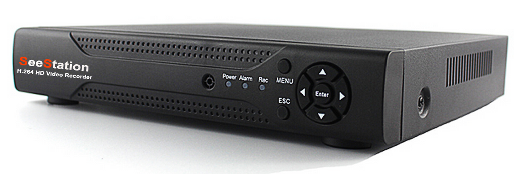 SeeStation HD OVER COAX (AHD) 04 Channel 1MP/720P Analog HD Surveillance Recorder (FREE HDD)