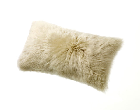 Longwool Sheepskin Cushion (11x22) - ParkerWool  - 1