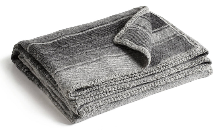 Alpaca Throw - Greys