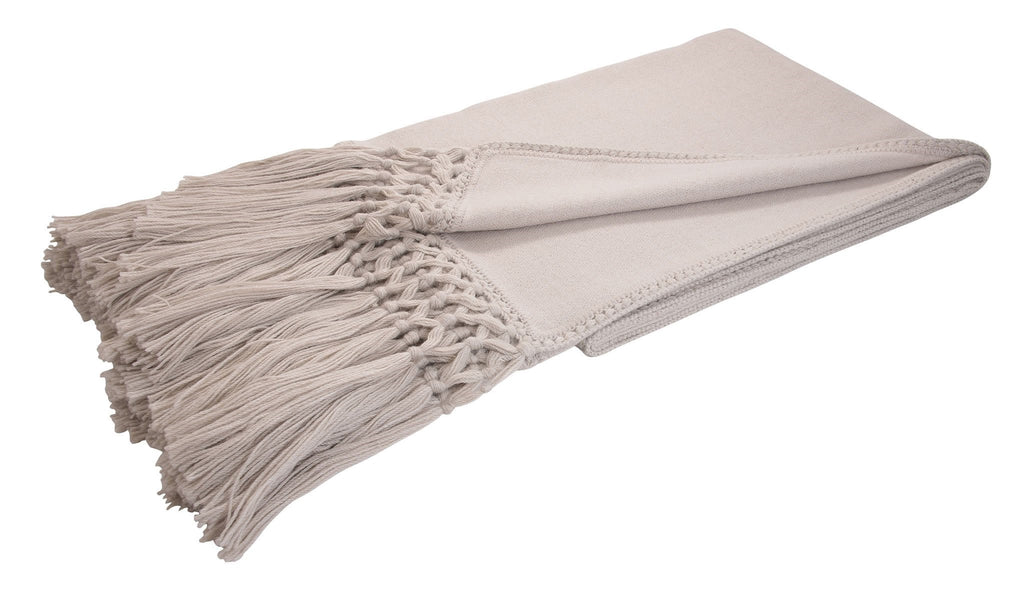Cool Fringed Baby Alpaca Throws