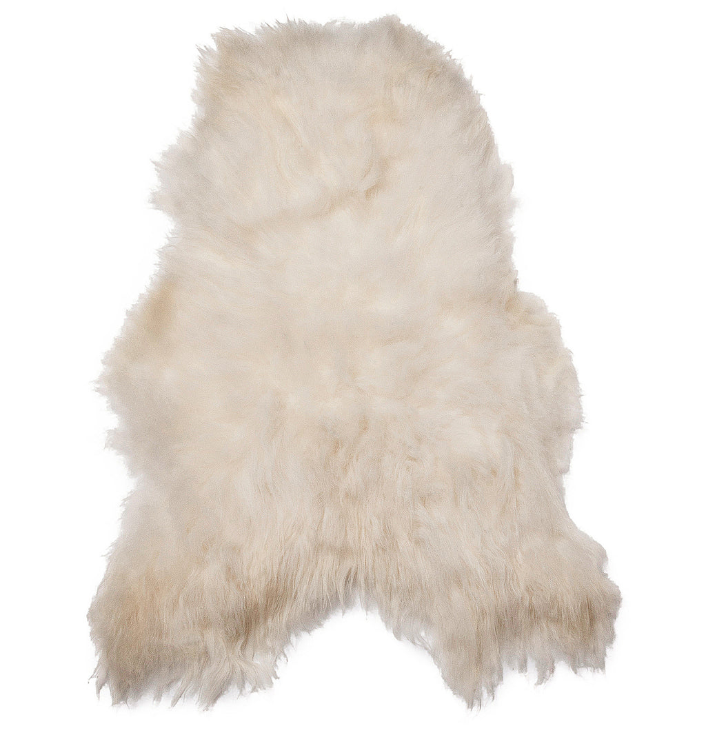 Arctic Sheepskin Single (2'x3.5') - ParkerWool  - 3