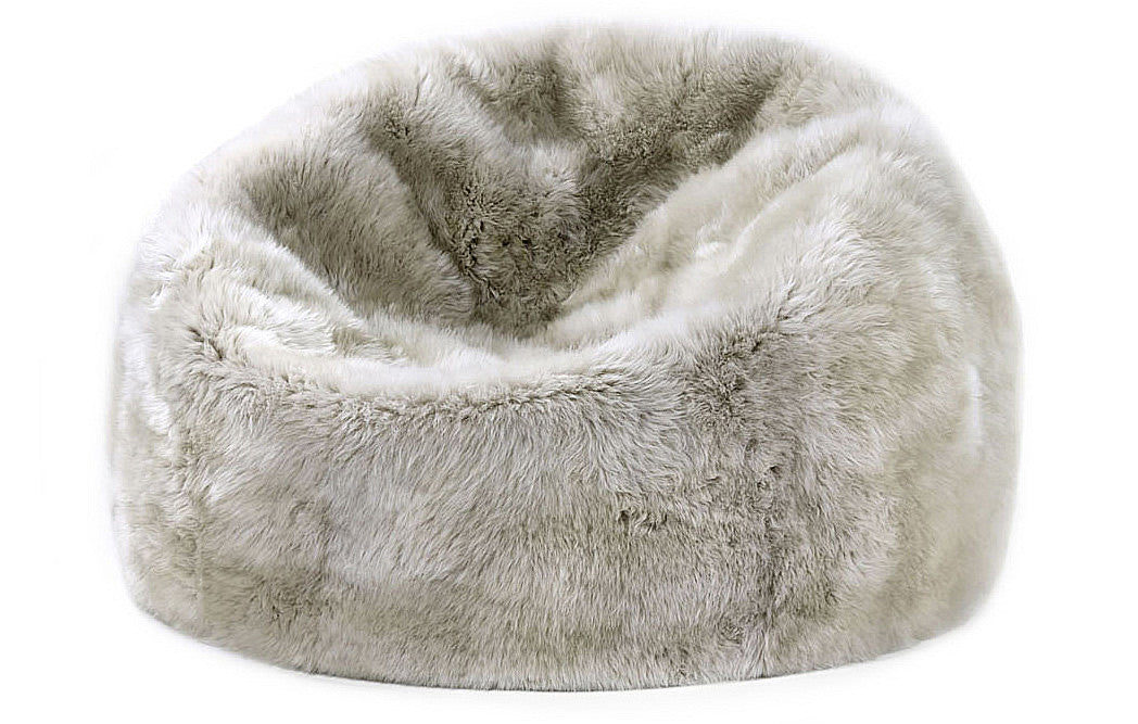 sheepskin bean bag parker wool. Black Bedroom Furniture Sets. Home Design Ideas