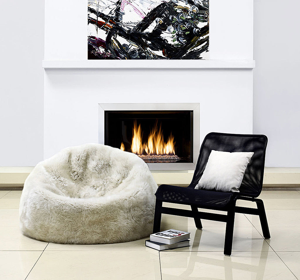 Sheepskin Bean Bag – Parker Wool