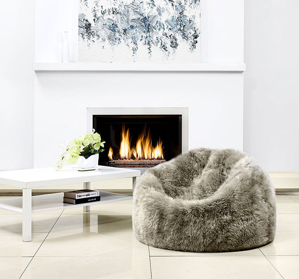 Sheepskin Bean Bag - ParkerWool  - 1