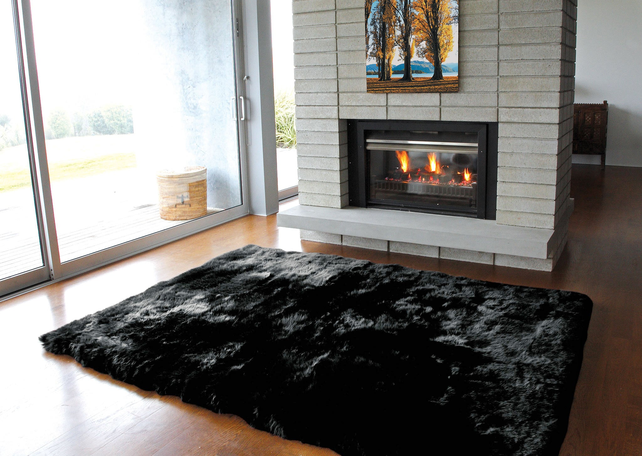 sheepskin design rug parker wool