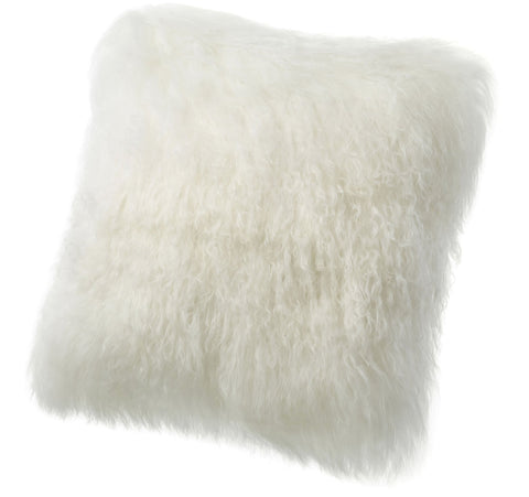 Tibetan Lamb Throw Pillow