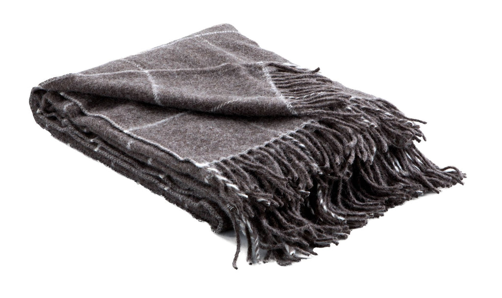 Alpaca & Wool Woven Throws, Squares