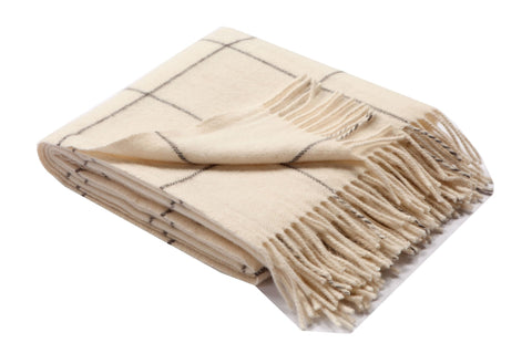 Alpaca & Wool Woven Throws / Squares