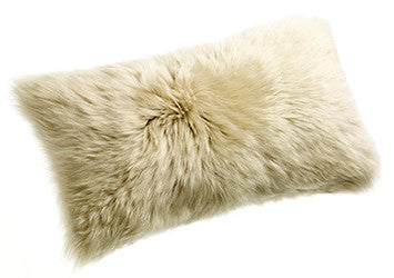 LONGWOOL SHEEPSKIN CUSHION