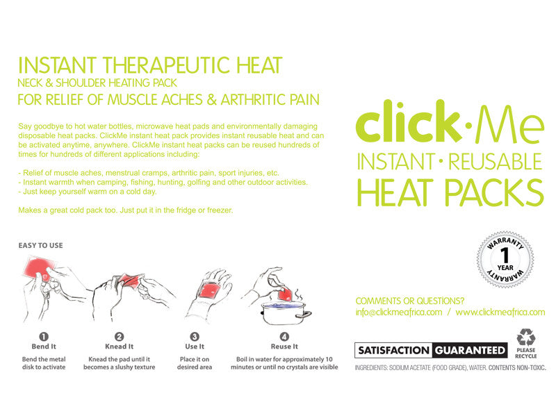 Neck & Shoulder heat therapy