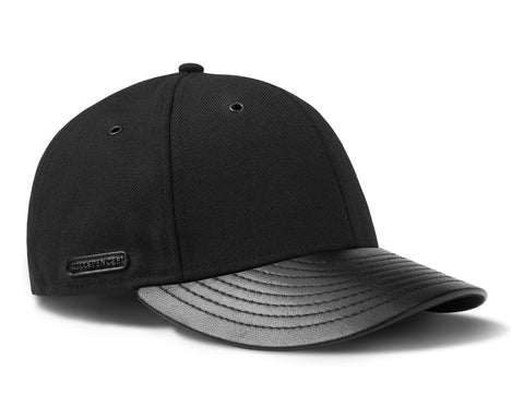 FITTED CAP | KILLSPENCER® - Black Leather
