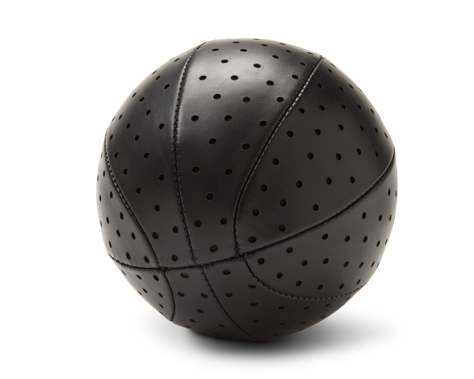 INDOOR MINI BASKETBALL | KILLSPENCER® - Black Perforated Leather