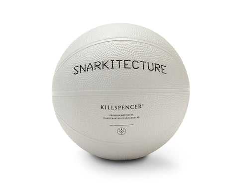 KILLSPENCER X SNARKITECTURE INDOOR MINI BASKETBALL | KILLSPENCER® - Grey Rubber