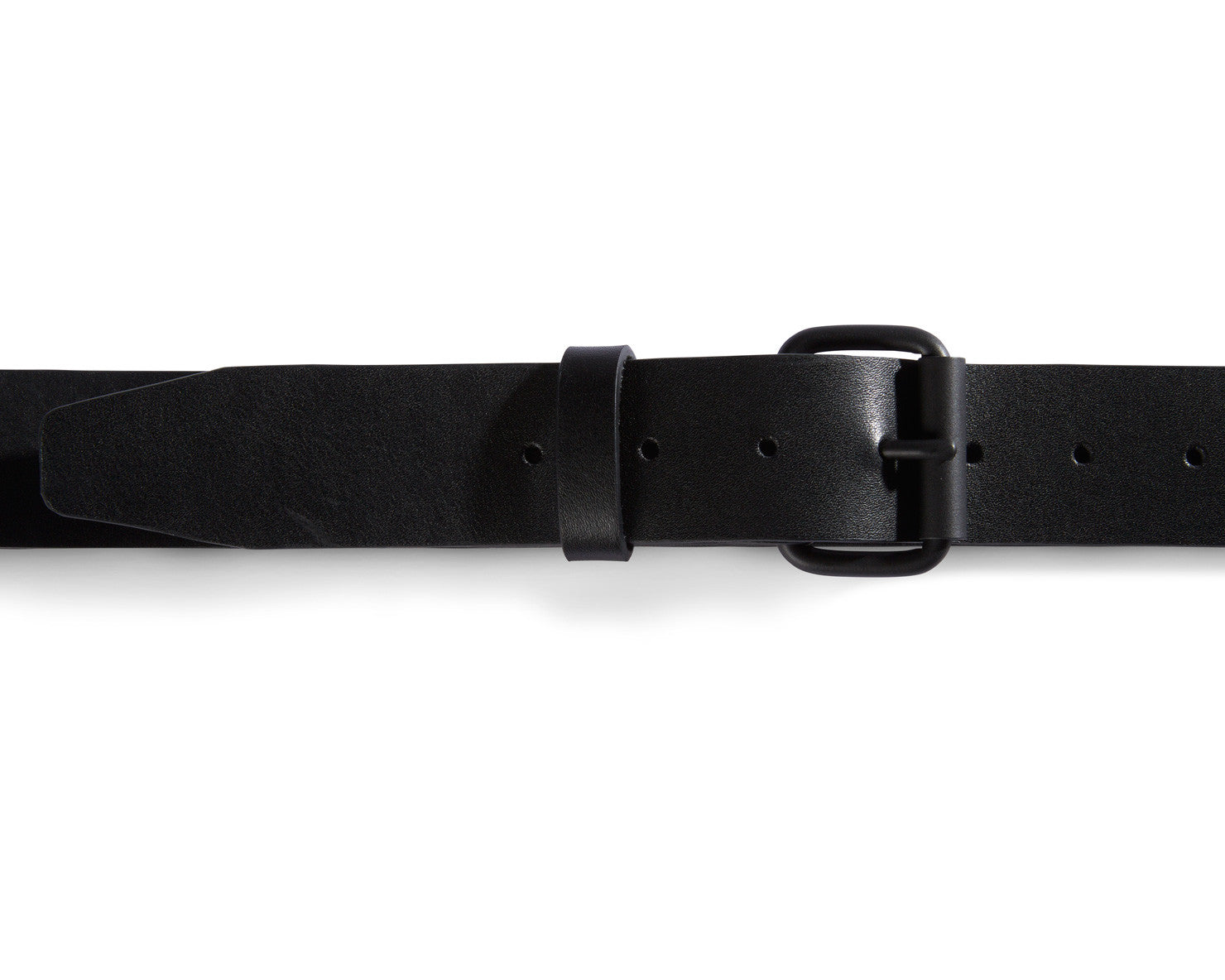 BELT | KILLSPENCER® - Black Bullhide Leather