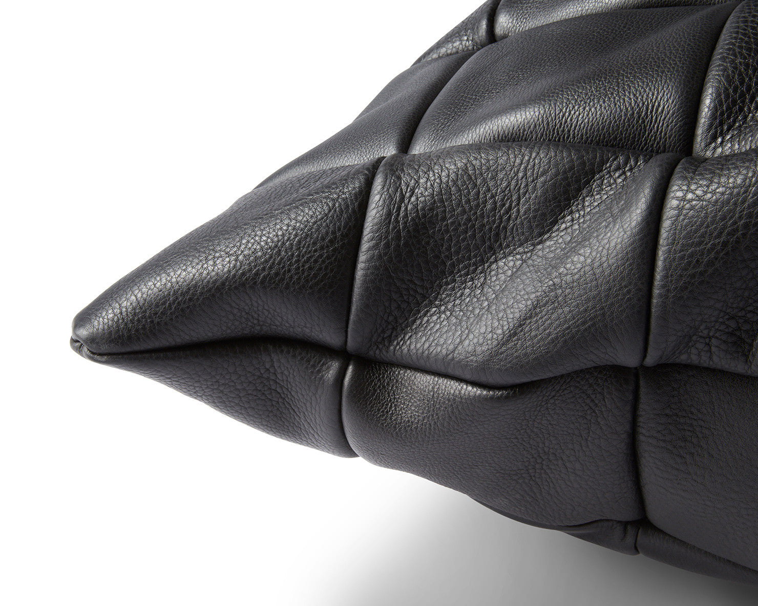 FLOOR PILLOW LARGE | KILLSPENCER® - Black Leather