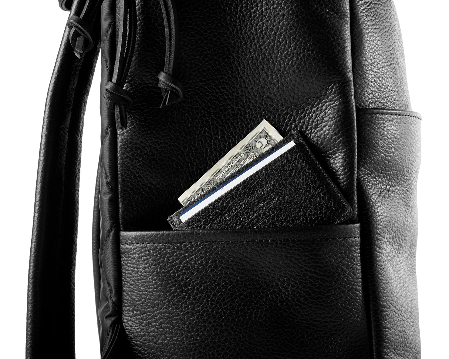 R-22 RUCKSACK | KILLSPENCER® - Black Leather