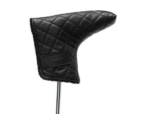 PUTTER COVER | KILLSPENCER® - Black Quilted Leather