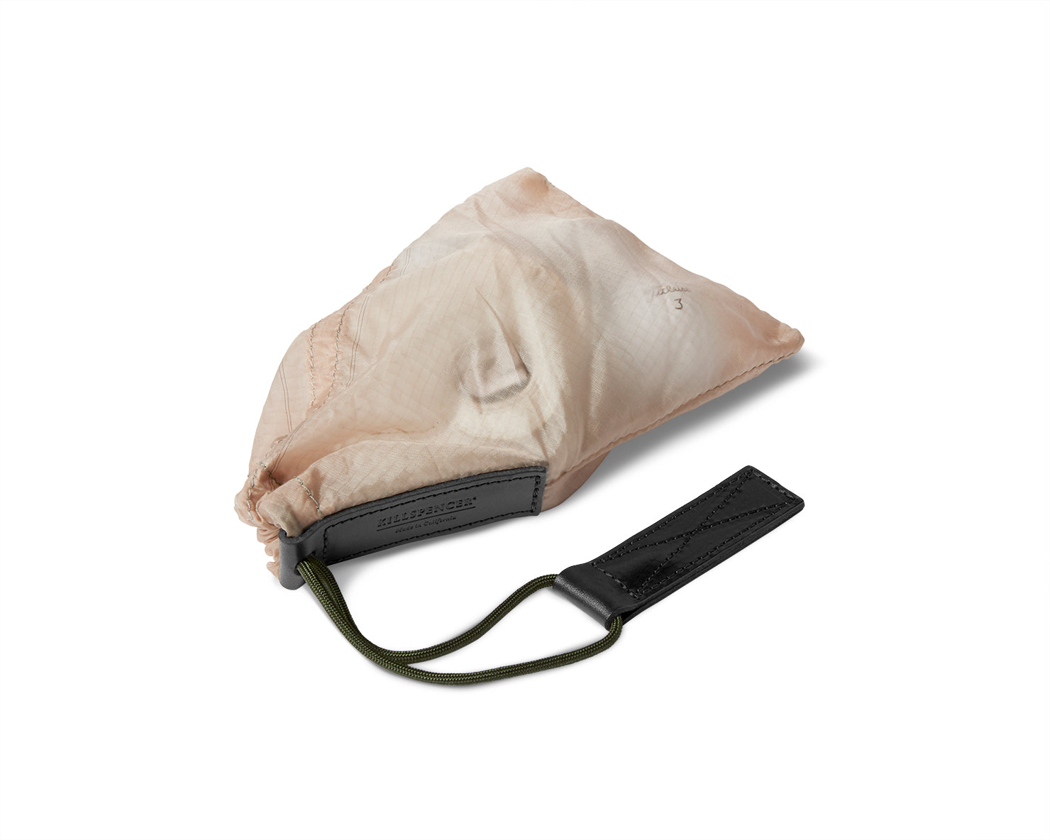 PARACHUTE BAG 2.0 - Small Accessory Bag | KILLSPENCER® - Tan Parachute