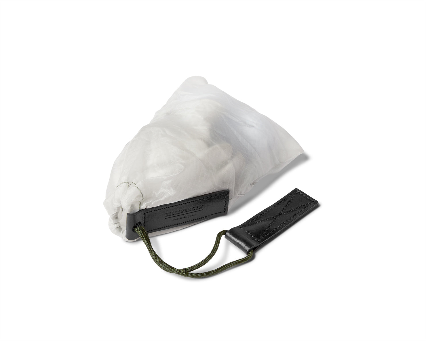 PARACHUTE BAG 2.0 - Small Accessory Bag | KILLSPENCER® - White Parachute