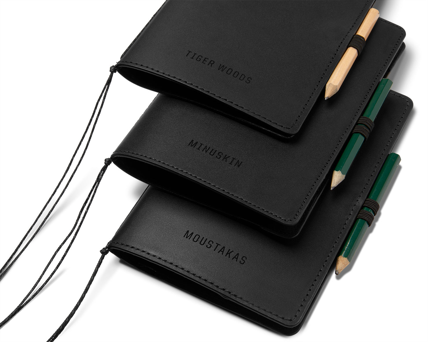 SCORECARD COVER | KILLSPENCER® - Black Bullhide Leather