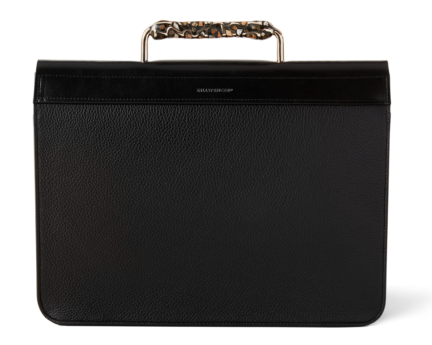 KILLSPENCER x DAVID WISEMAN FLETCHER BRIEFCASE | KILLSPENCER® - Black Leather