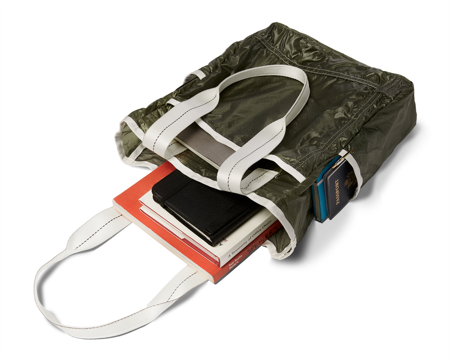 MARKET TOTE | KILLSPENCER® - Olive Drab Parachute