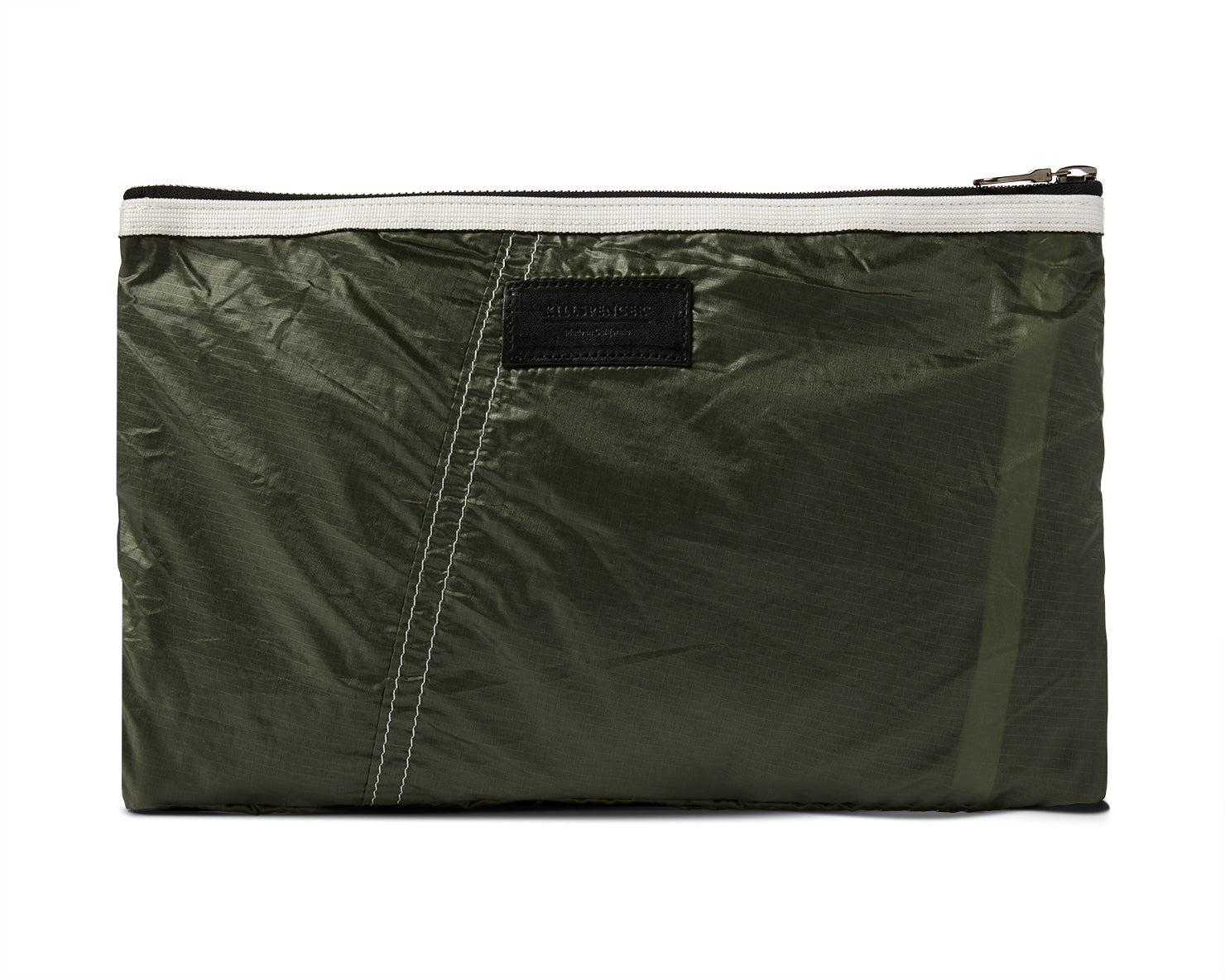 PARACHUTE ZIPPERED POUCH | KILLSPENCER® - Olive Drab Parachute