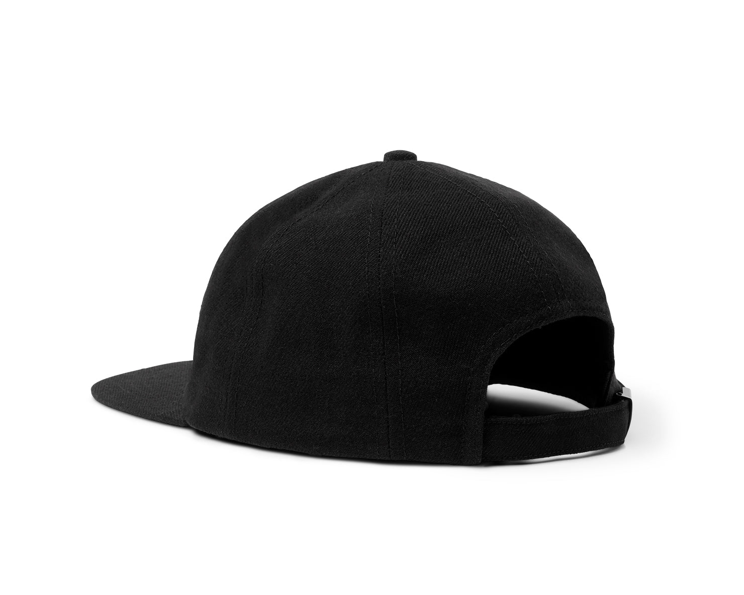 BLM 8 PANEL HAT | KILLSPENCER® - Black Wool