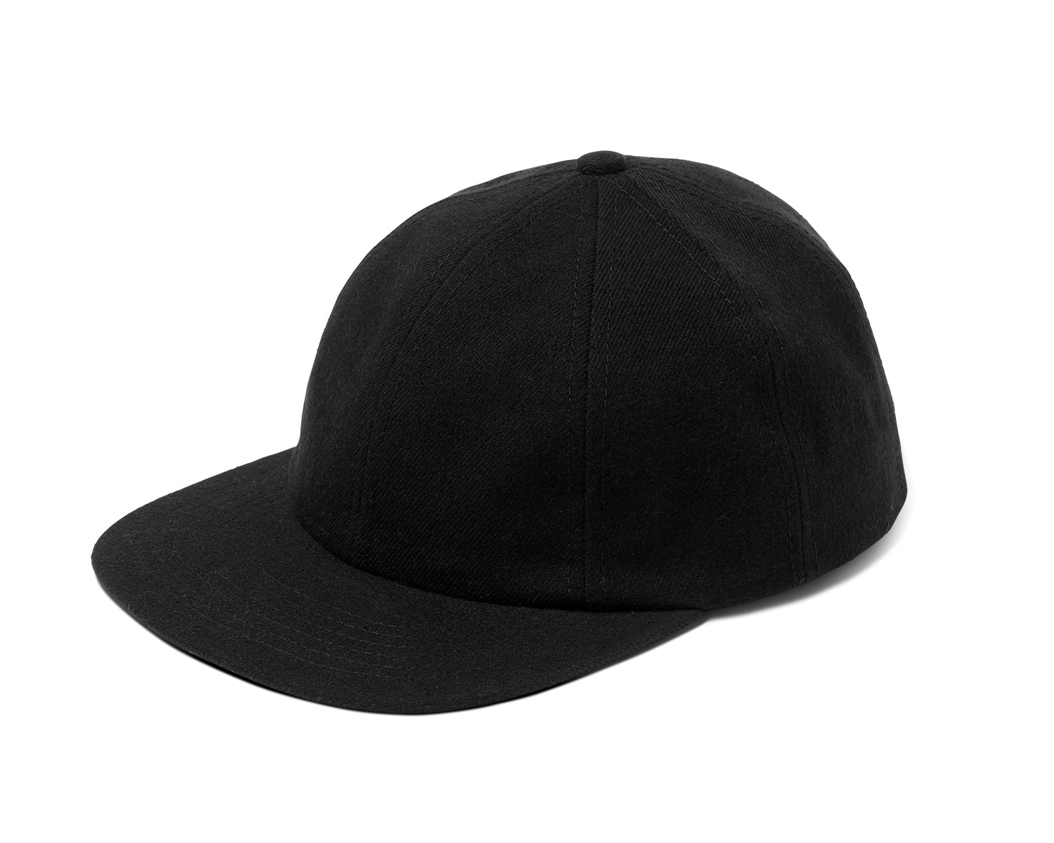 8 PANEL HAT | KILLSPENCER® - Black Wool