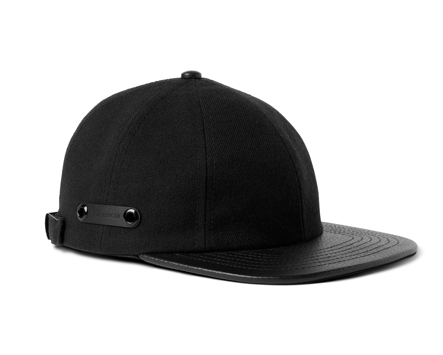 8 PANEL HAT | KILLSPENCER® - Black Leather