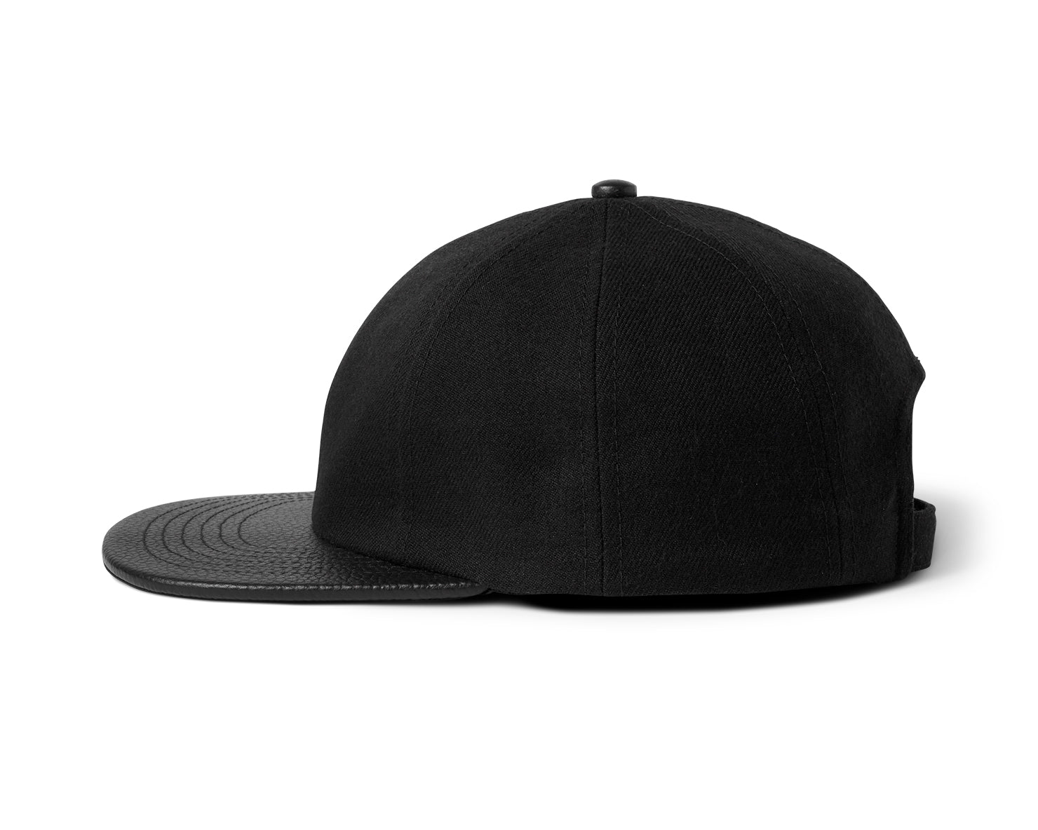 BLM 8 PANEL HAT | KILLSPENCER® - Black Leather