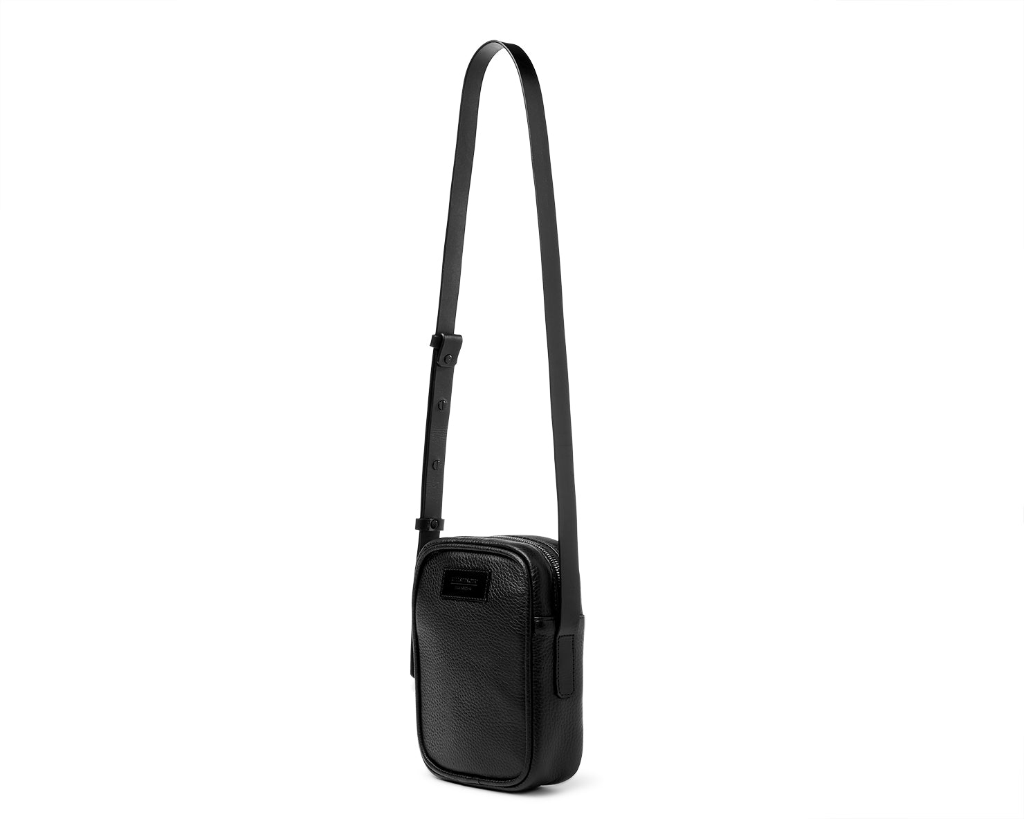 V-2 BAG | KILLSPENCER® - Black Leather