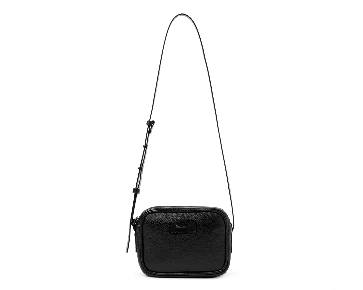 V-1 BAG | KILLSPENCER® - Black Leather