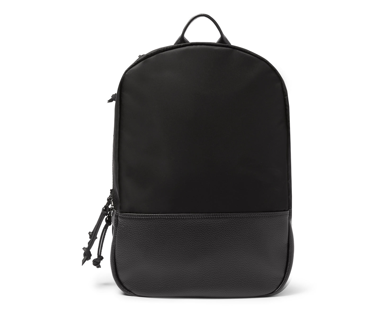 UTILITY DAYPACK | KILLSPENCER® - Black Italian Nylon and Leather