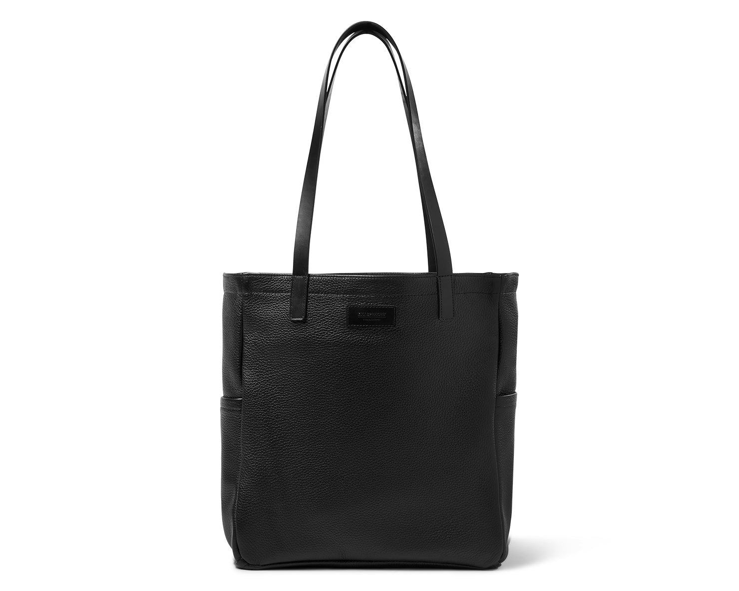 BOX TOTE | KILLSPENCER® - Black Leather