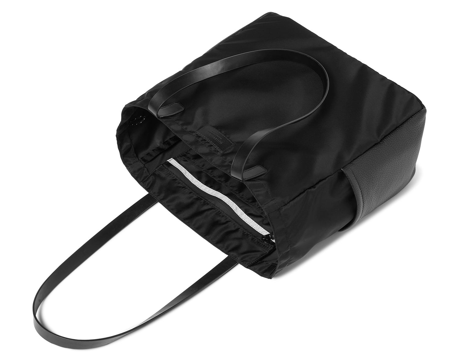 BOX TOTE | KILLSPENCER® - Black Italian Nylon and Leather