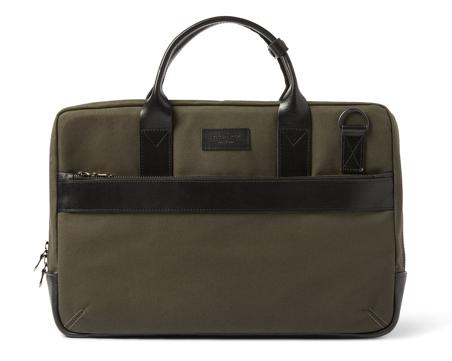 UTILITY ATTACHÉ BRIEFCASE | KILLSPENCER® - Olive Drab Canvas