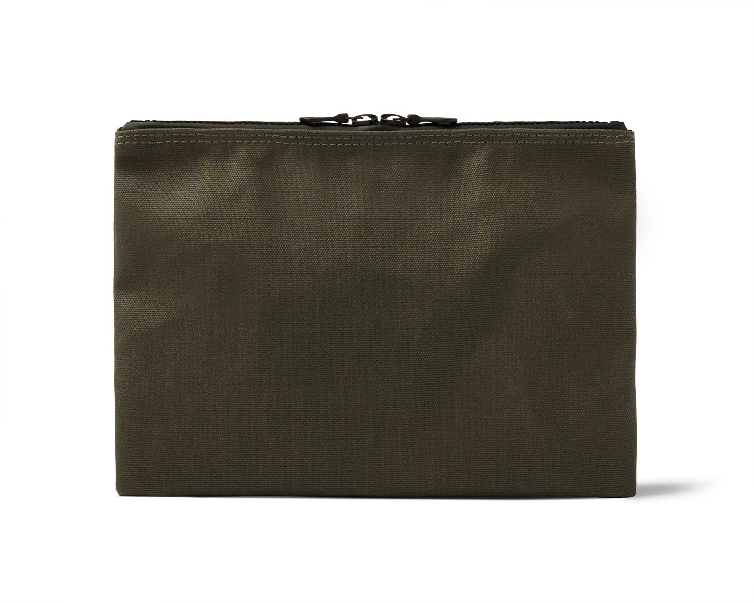 MEDIUM ZIPPERED POUCH | KILLSPENCER®  - Olive Drab Canvas