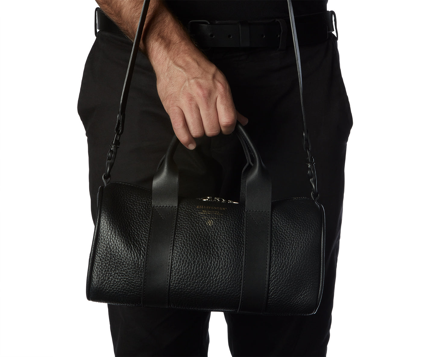 MINI DUFFLE | KILLSPENCER® - Black Leather