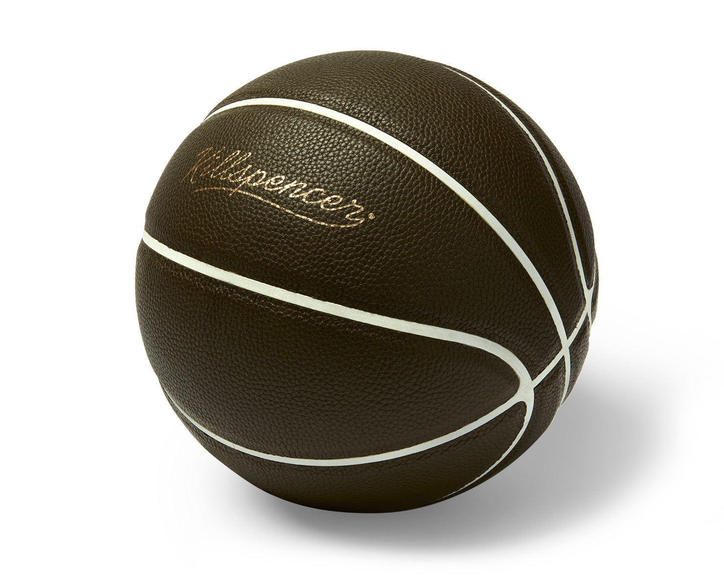 INDOOR FULL-SIZE BASKETBALL | KILLSPENCER® - Army Green Leather with White Grip