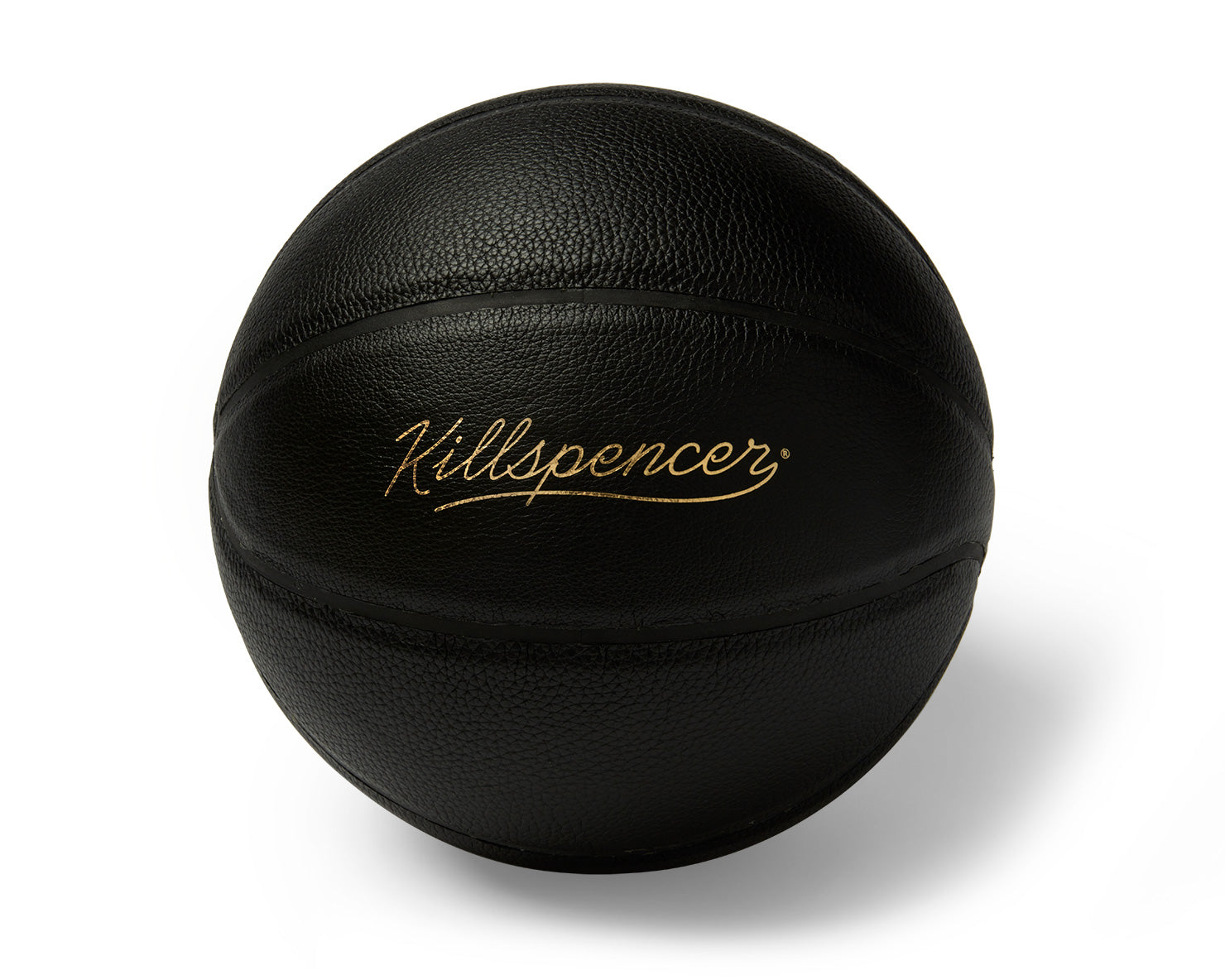 INDOOR FULL-SIZE BASKETBALL | KILLSPENCER® - Black Leather with Black Grip
