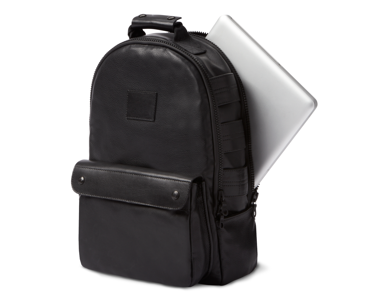 UTILITY BACKPACK | KILLSPENCER® - Black Leather