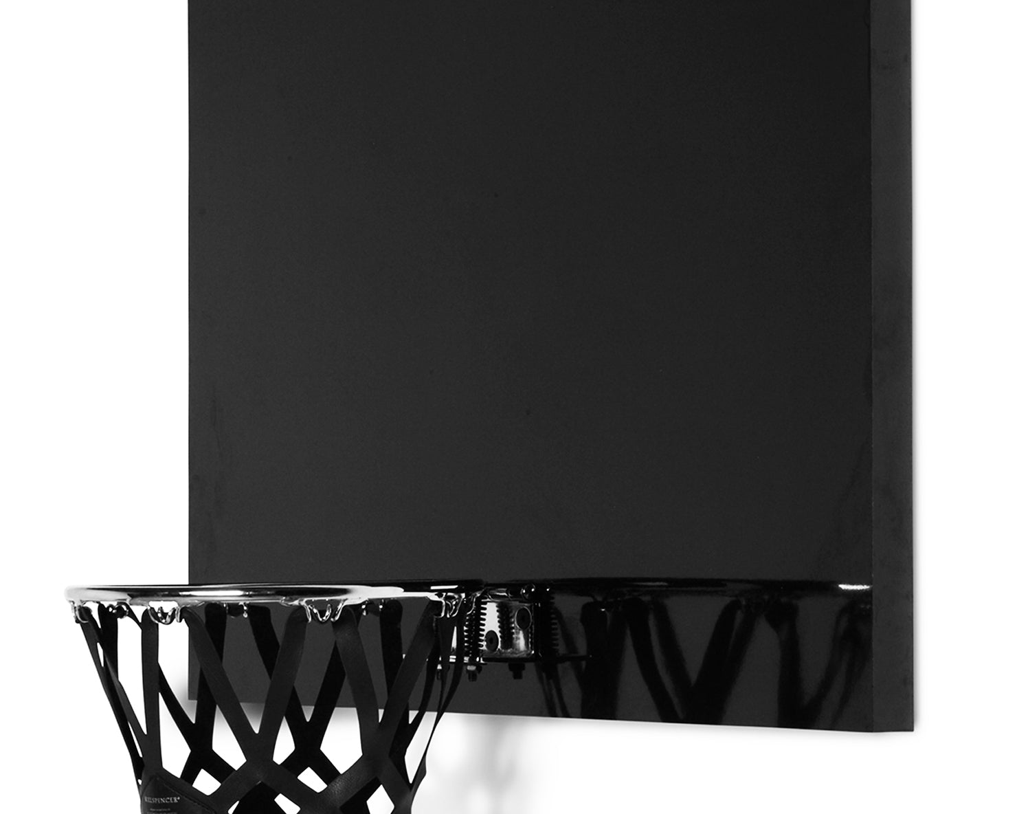 INDOOR MINI BASKETBALL KIT | KILLSPENCER® - Chrome and Gloss Black