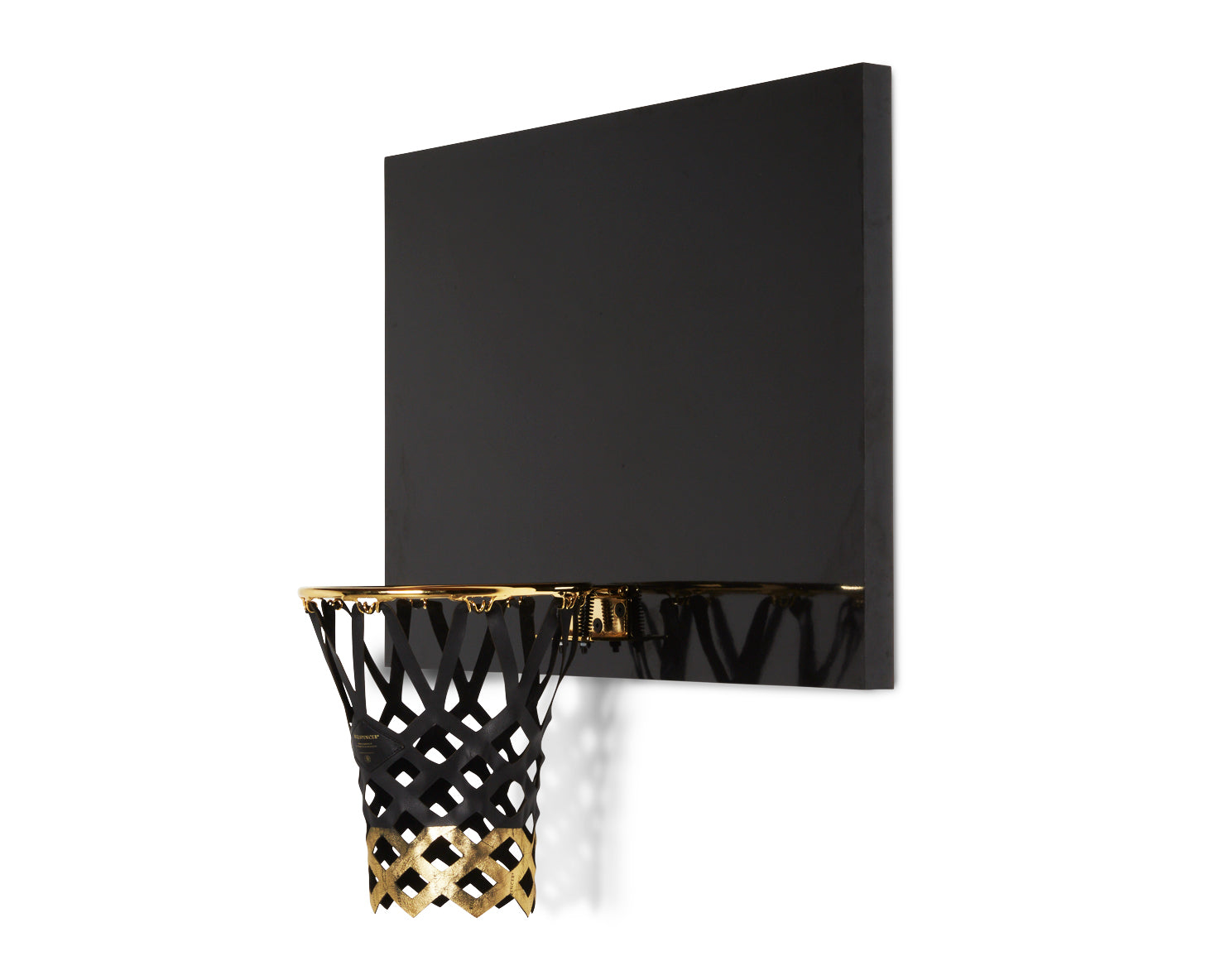 INDOOR MINI BASKETBALL KIT | KILLSPENCER® - 24-Karat Gold and Gloss Black